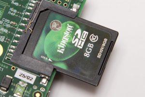 SD on a Raspberry